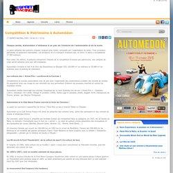 Compétition & Patrimoine à Automédon
