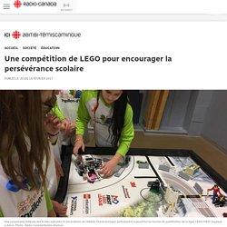 Une compétition de LEGO pour encourager la persévérance scolaire
