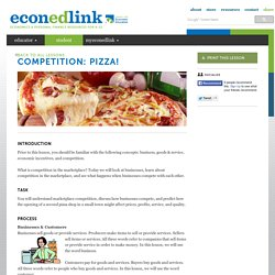 Competition: Pizza!