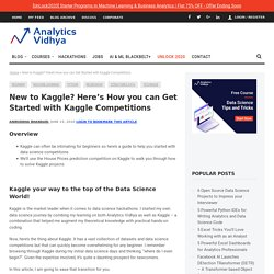 Getting Started witj Kaggle for Beginners