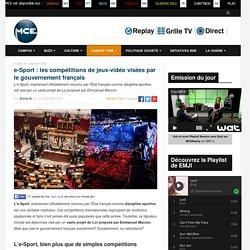 e-Sport : les compétitions de jeux-vidéo visées par le gouvernement français