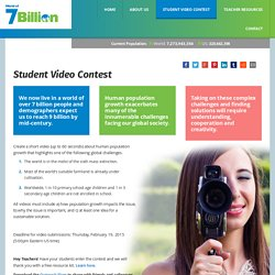 Video Competitions for High School Students