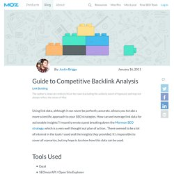 Guide to Competitive Backlink Analysis