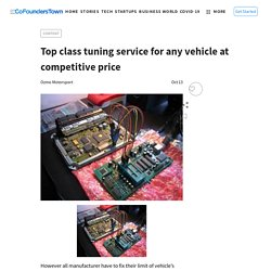 Top class tuning service for any vehicle at competitive price
