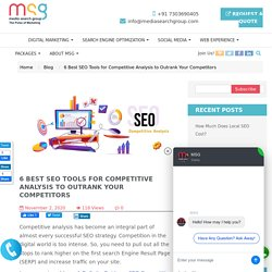 6 Best SEO Tools for Competitive Analysis to Outrank Your Competitors