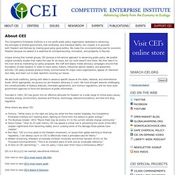 Competitive Enterprise Institute - CEI