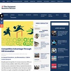 Competitive Advantage Through HR Innovation