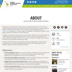 Global Competitiveness Leadership Program