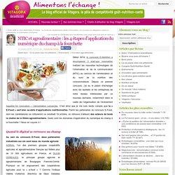 Le Blog officiel de Vitagora, le Pôle de compétitivité goût-nutrition-santé » NTIC et agroalimentaire : les 4 étapes d'application du numérique du champ à la fourchette