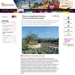 Ville de Rousset -Pôle de compétitivité Solutions Communicantes Sécurisées