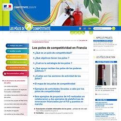 Los polos de competitividad en Francia