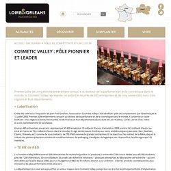 4 pôles de compétitivité et un cluster - Cosmetic Valley : pôle pionnier et leader