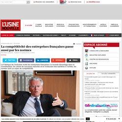 La compétitivité des entreprises françaises passe aussi par les normes