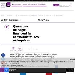 Bilan économique du quinquennat Hollande 2016