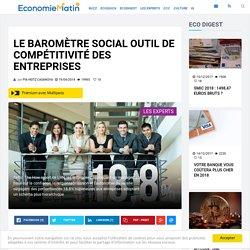 Le baromètre social outil de compétitivité des entreprises