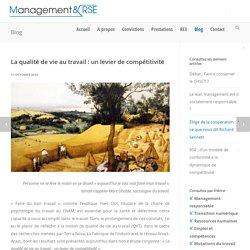 La qualité de vie au travail : un levier de compétitivité - Management & RSE
