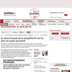 Le choix français de la compétitivité-prix est contre-productif