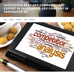 What is competitor analysis and how it impacts SEO?
