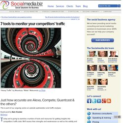7 tools to monitor your competitors' traffic