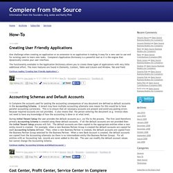 Compiere from the Source: How-To