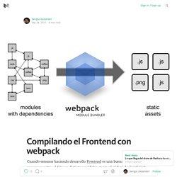 Compilando el Frontend con webpack