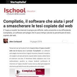 Compilatio, il software che smaschera le tesi copiate dal web