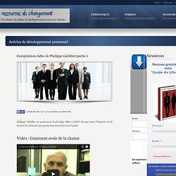 Compilation vidéo de Philippe Gabilliet partie 1