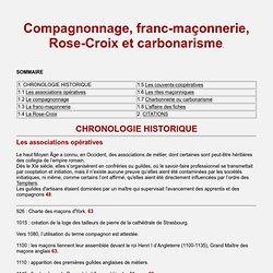 Franc-maçonnerie Rose-croix carbonarisme