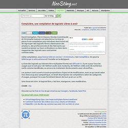 CompiLibre, une compilation de logiciels Libres à avoir
