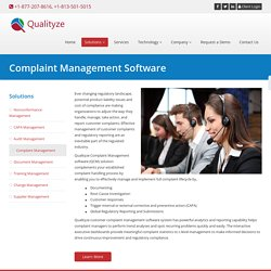 Customer Complaint Management Software Solutions for Banks