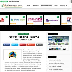 Read Reviews for Pariwar Housing and Projects Bangalore