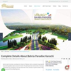 Compleate details Bahria Paradise Karachi 2020 - Price, Location - Salaam Estate