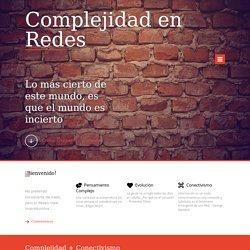 Complejidad en Redes
