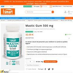 Complément de Gomme de Mastic (Pistacia lentiscus L.)