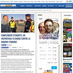 Complément d'Enquête : un « reportage » à charge contre la Hongrie [Tribune]