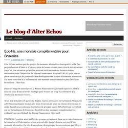 Eco-Iris, une monnaie complémentaire pour Bruxelles