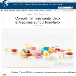 Complémentaire santé : deux entreprises sur dix hors-la-loi