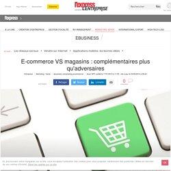 E-commerce VS magasins : complémentaires plus qu'adversaires