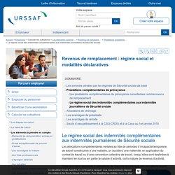 Le régime social des indemnités complémentaires aux indemnités journalières de Sécurité sociale