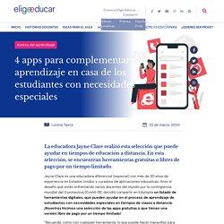 4 apps para complementar el aprendizaje en casa de los estudiantes con necesidades especiales