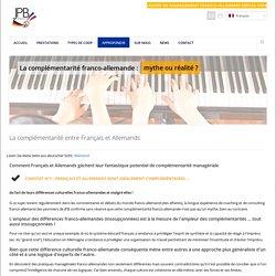 JPB » La complémentarité malgré les différences culturelles franco-allemandes