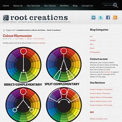 mplementary colours « Root Creations
