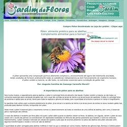 Pólen: complemento alimentar para o homem - Jardim de Flores