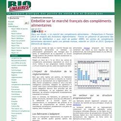 Embellie sur le marché français des compléments alimentaires
