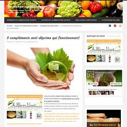 Dépression : Les 5 meilleurs compléments alimentaires