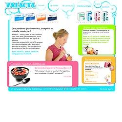 Accueil - YALACTA ® - Compléments alimentaires & ferments lactiques