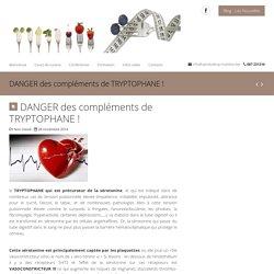 DANGER des compléments de TRYPTOPHANE ! - Van Vlodorp Nutrition