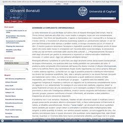 Governare la complessità (informazionale) » Giovanni Bonaiuti