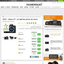 Nikon Z7 : Test complet - Appareil Photo Numérique