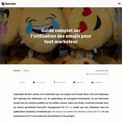 Guide complet sur l'utilisation des emojis pour tout marketeur